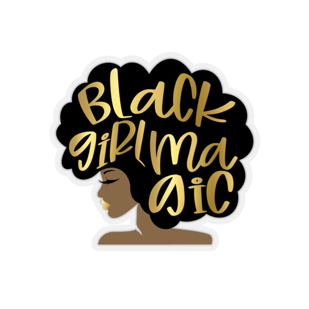 Black Girl Magic Sticker, Afro Girl, Black Lives Matter, African Queen, Faux Gold Lips, Melanin Drippin, Diva Laptop Planner Gift Grad Phone