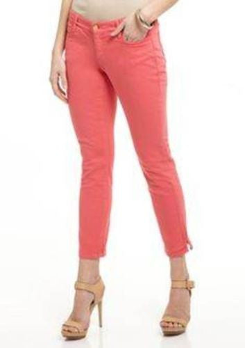 Ivanka Trump NWT Honeysuckle Jada Cotton Blend Mid-Rise Cropped Jeans, Size 16 - Swanky Bazaar - 1