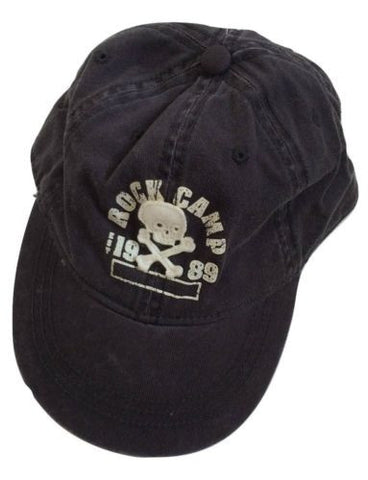 NEW The Children's Place Skull Rock Camp Baseball Cap, Blue - Size L / 2-4 YR - Swanky Bazaar