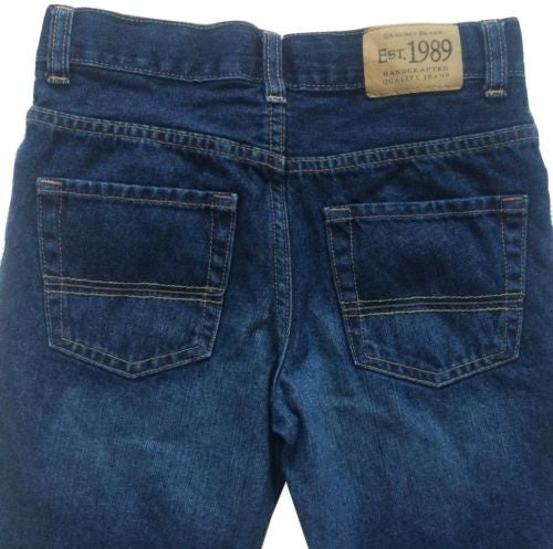 The Children's Place NEW Boys Adjustable Waist Bootcut Cotton Jeans, Size 10 - Swanky Bazaar - 2