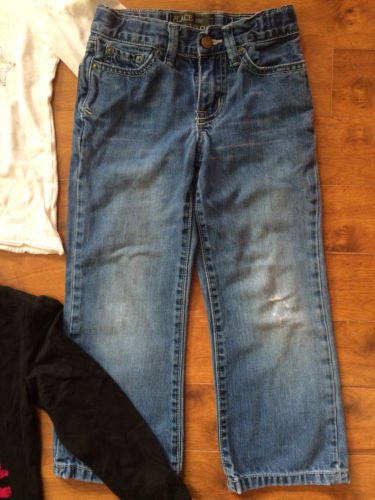 The Children's Place NEW $68 Girl's Tops, Jeans & Pants 4-Pc Lot - Sz Small 5/6 - Swanky Bazaar - 3