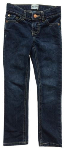 Children's Place NWT Girls China Blue Adjustable Waist Skinny Stretch Jeans Sz 6 - Swanky Bazaar - 1