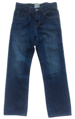 Children's Place NEW Boys Adjustable Waist Straight Leg 100% Cotton Jeans Sz 10 - Swanky Bazaar - 1