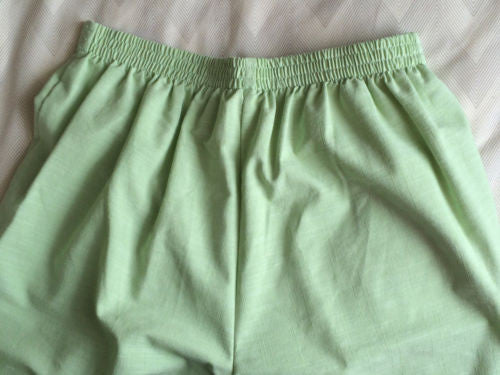 NEW $46 Alfred Dunner Stretch Cotton Blend Pants, Spearmint Green - Size 8P - Swanky Bazaar - 2