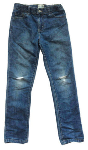 Children's Place NWT Boys Adjustable Waist Distressed Jeans, Size 12 Skinny - Swanky Bazaar - 1