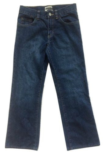The Children's Place NEW Boys Adjustable Waist Bootcut Cotton Jeans, Size 10 - Swanky Bazaar - 1