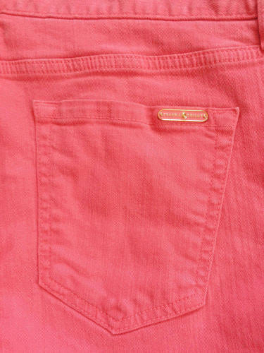 Ivanka Trump NWT Honeysuckle Jada Cotton Blend Mid-Rise Cropped Jeans, Size 16 - Swanky Bazaar - 3