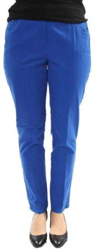 Ruby Rd. NWT Cobalt Sun Kissed Cotton Blend Stretch Fit Mid-Rise Jeans, Size 10 - Swanky Bazaar - 1
