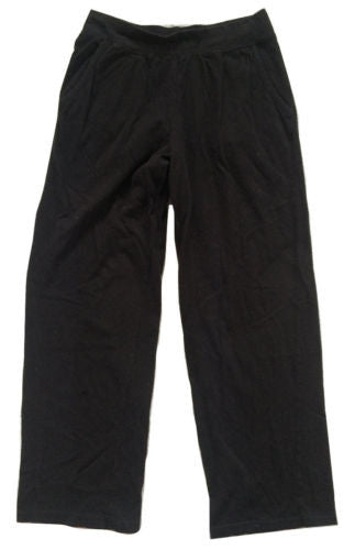 New Directions Intimates NEW Black Cropped Soft Cotton Lounge Pants, MEDIUM - Swanky Bazaar
