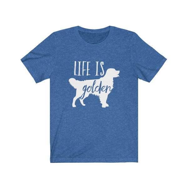 Life Is Golden B+C Unisex Jersey Short Sleeve Tee
