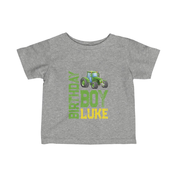 Luke Birthday Boy Infant Fine Jersey Tee