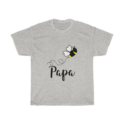 Papa Bee Unisex Heavy Cotton Tee