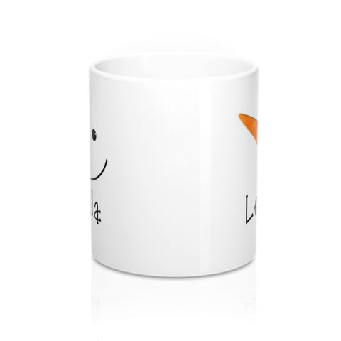 Leighla Personalized Snowman Coffee Mug in 11 or 15 oz.