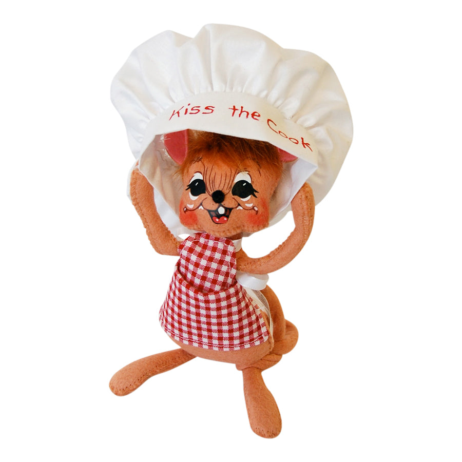 "Annalee 6"" Kiss the Cook Mouse - 2014 Retired"