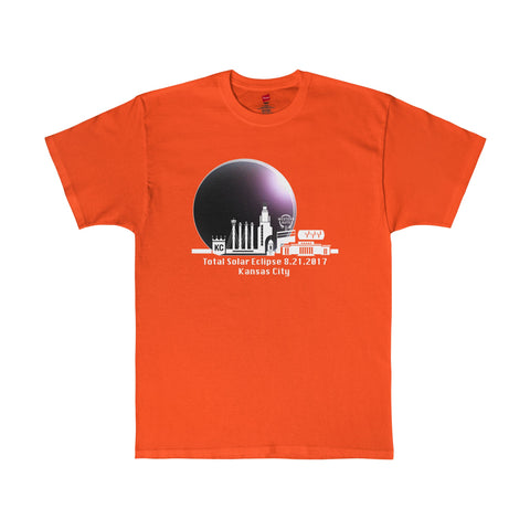 Total Eclipse of the Sun Kansas City Missouri T-Shirt in 7 Colors Sizes S-5XL