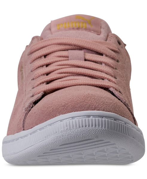 Puma Women's Vikky Casual Sneakers Peach Beige White Size 7