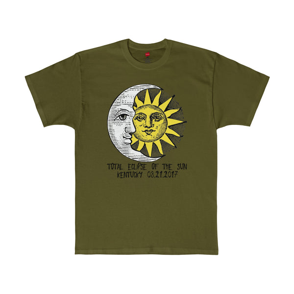 Kentucky Total Eclipse of The Sun 2017 T-Shirt in 13 Colors Unisex Sizes S-5XL