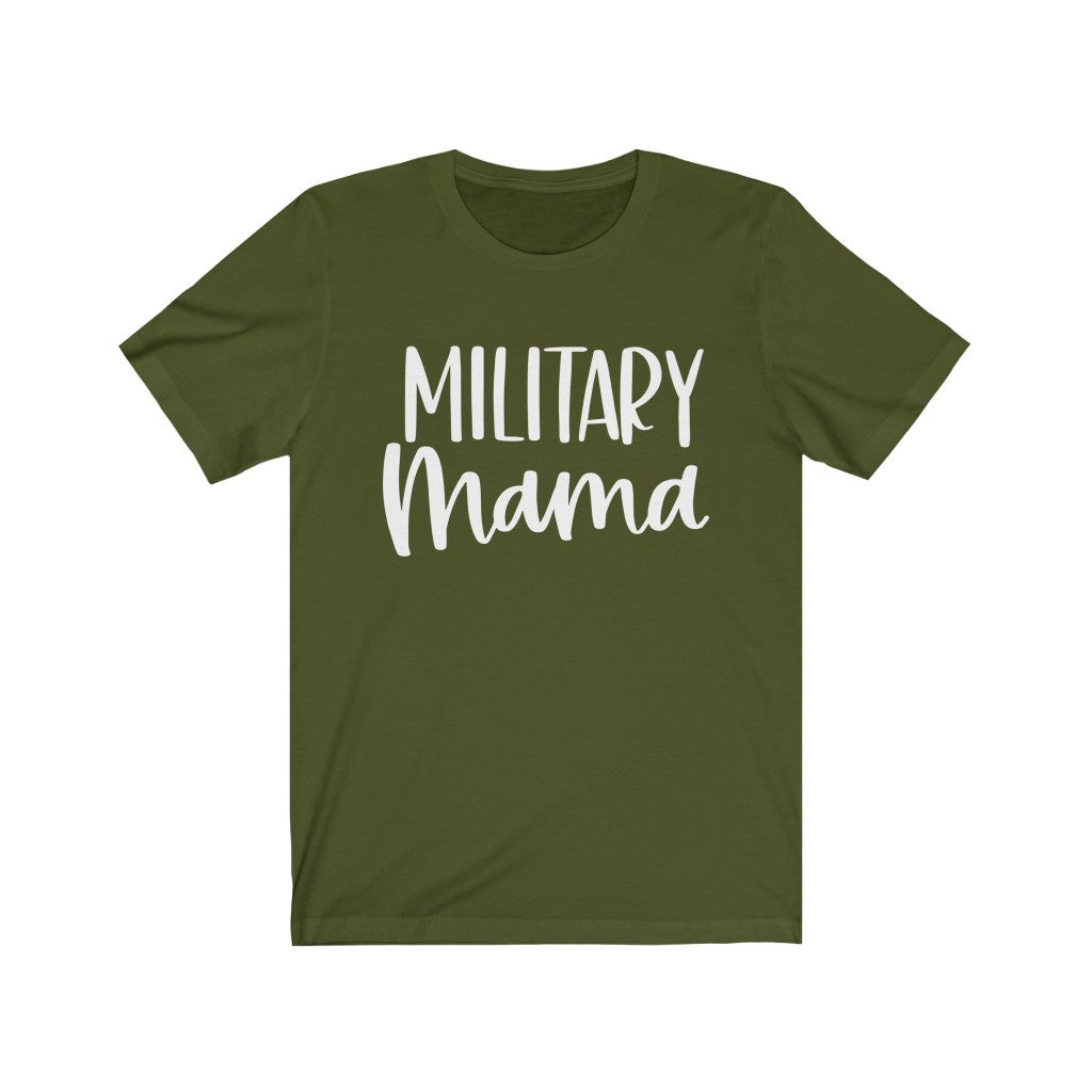 Military Mom, Proud Navy Mom, Military Wife B+C Unisex Jersey Short Sleeve Tee