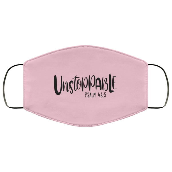Unstoppable Psalm 46 5 FMA Face Mask