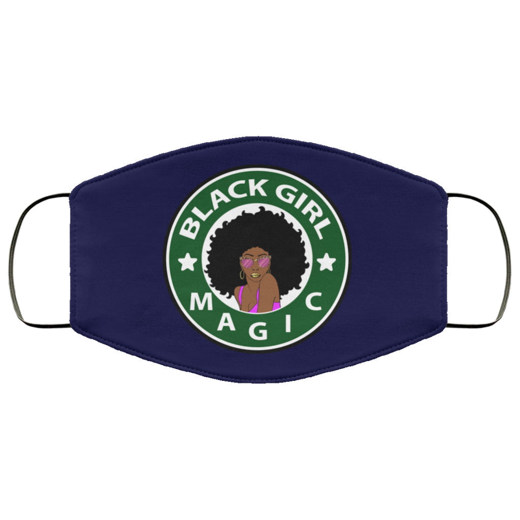 FMA Face Mask Black Girl Magic Starbucks
