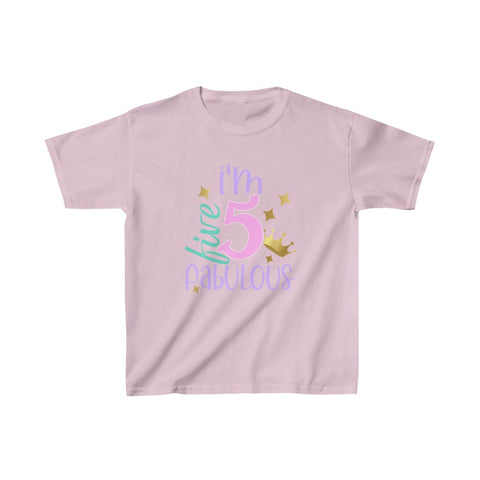I'm 5 and Fabulous Youth Shirt