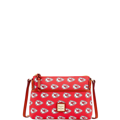 Dooney & Bourke NFL Kansas City Chiefs Red Ginger Crossbody Bag