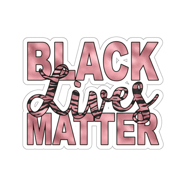 Black Lives Matter, Pink Tiger Stripes, Car Sticker, Waterbottle Sticker, Sticker Shop, Quote Sticker, Laptop Sticker, Feminist Sticker