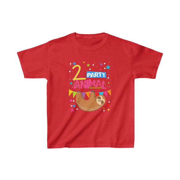 Sylas 2 Sloth Kids Heavy Cotton™ Tee
