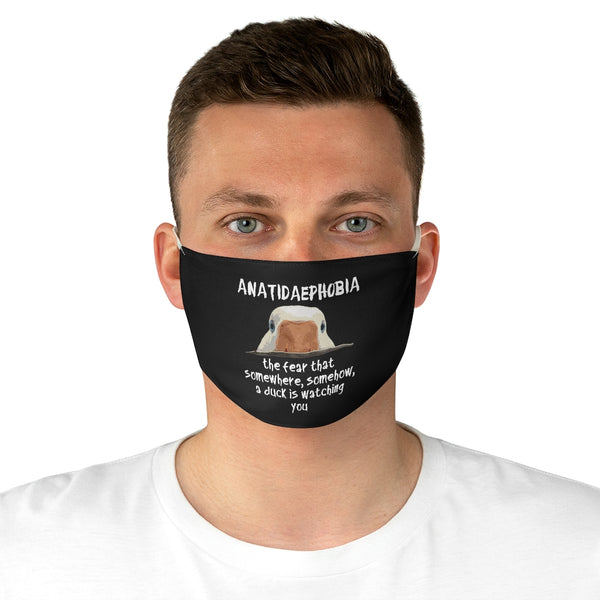 Duck Phobia Fabric Face Mask