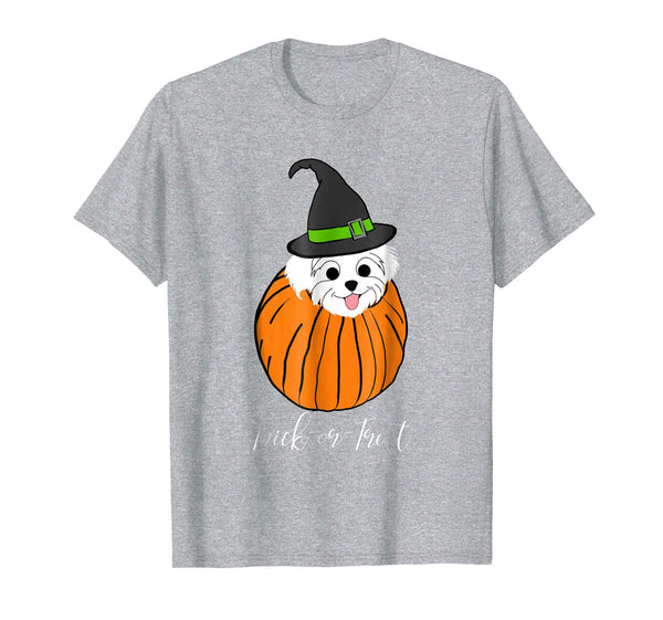 Halloween Shirt Havanese Mom T Shirt Pumpkin Trick Or Treat