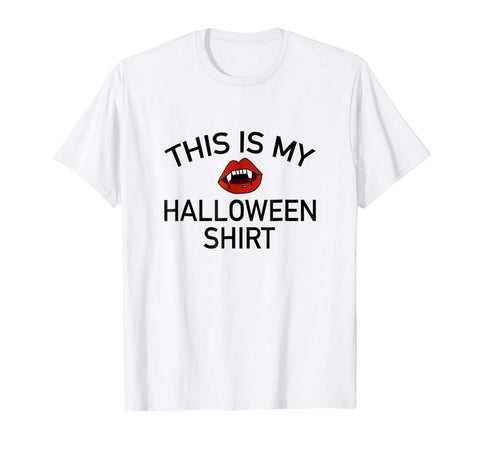 Halloween Costumes This Is My Halloween Shirt Vampire Teeth