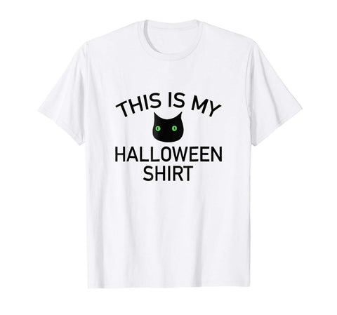 Halloween Costumes This Is My Halloween Shirt Cat Costume