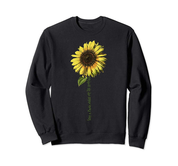 Being A Mama Makes My Life Complete Sweatshirt Sunflower