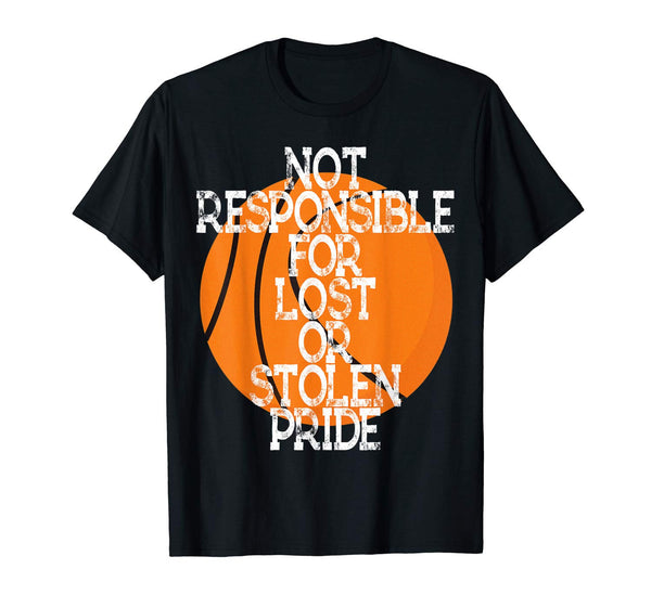 Not Responsible Basketball Shirt Birthday Party Games Player