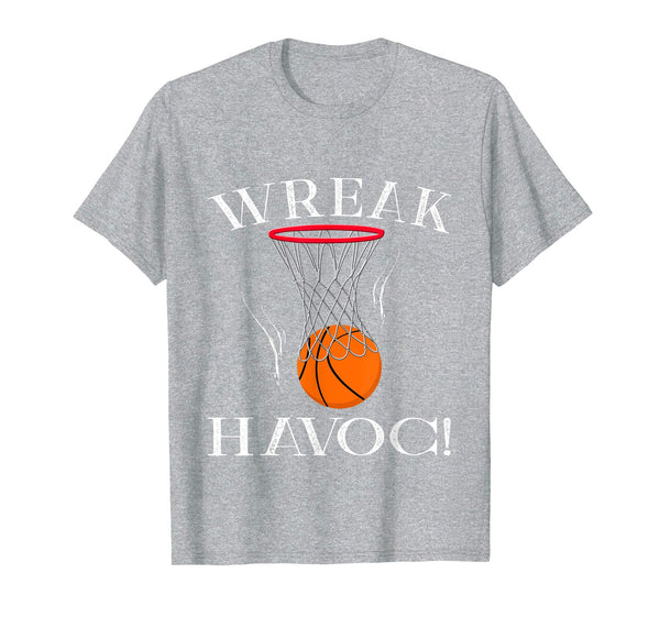 Wreak Havoc! Basketball Shirt Birthday Party Games Players