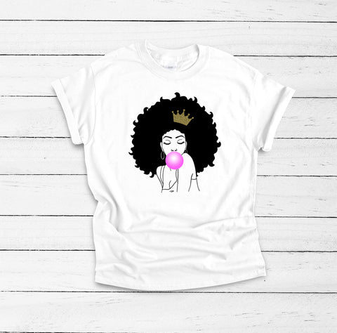 Melanin Poppin Black Queen Shirt, Afro Girl, Black Girl Magic, Drippin Melanin Shirt, Black History Shirt, Girl Power Shirt, Melanin Queen,
