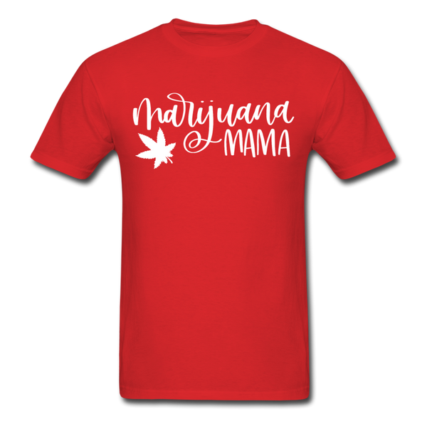 Marijuana Mama T-Shirt 3930 - red