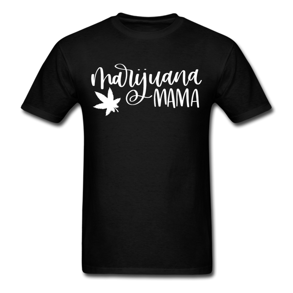 Marijuana Mama T-Shirt 3930 - black