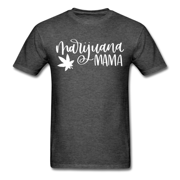Marijuana Mama T-Shirt 3930 - heather black