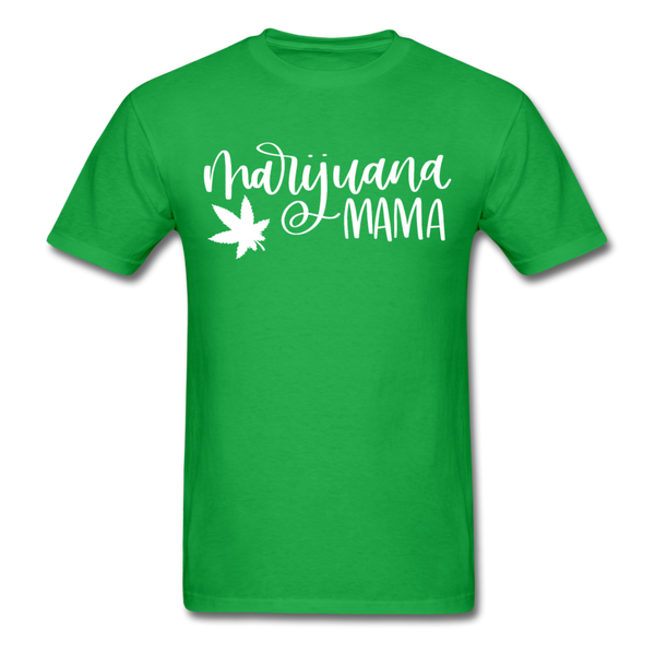 Marijuana Mama T-Shirt 3930 - bright green