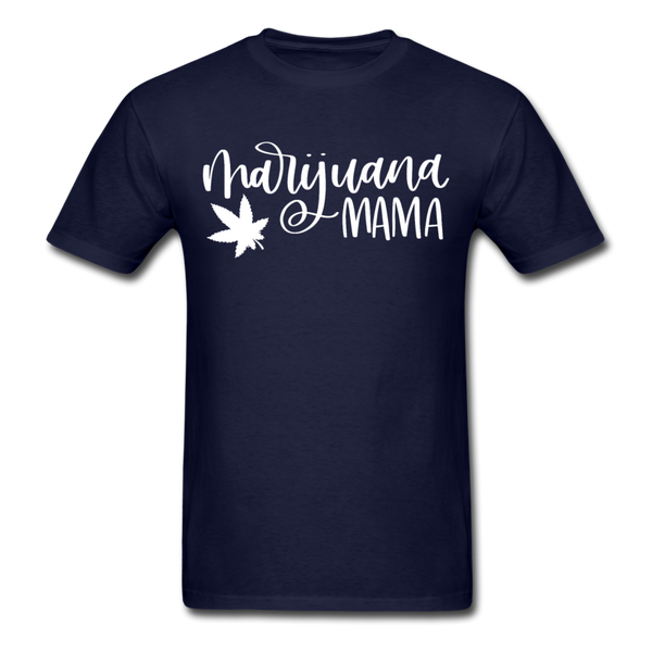 Marijuana Mama T-Shirt 3930 - navy