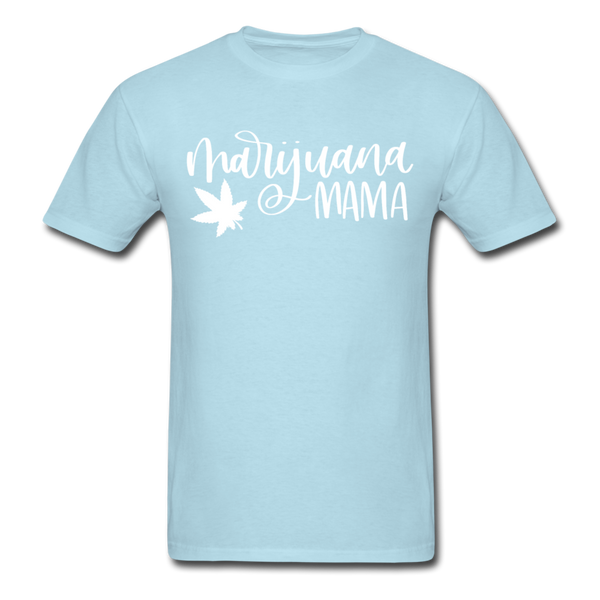 Marijuana Mama T-Shirt 3930 - powder blue