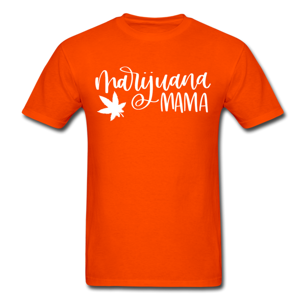 Marijuana Mama T-Shirt 3930 - orange