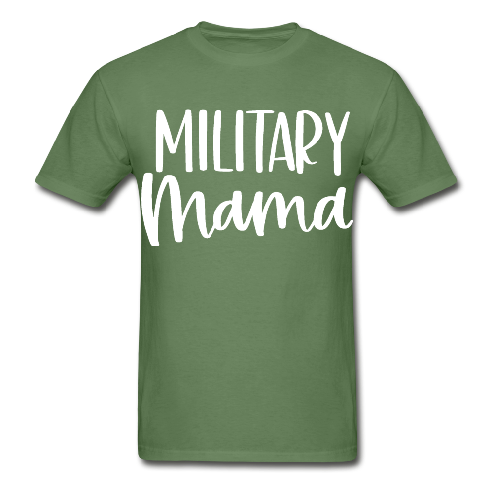 Military Mama Ultra Cotton Adult T-Shirt - military green