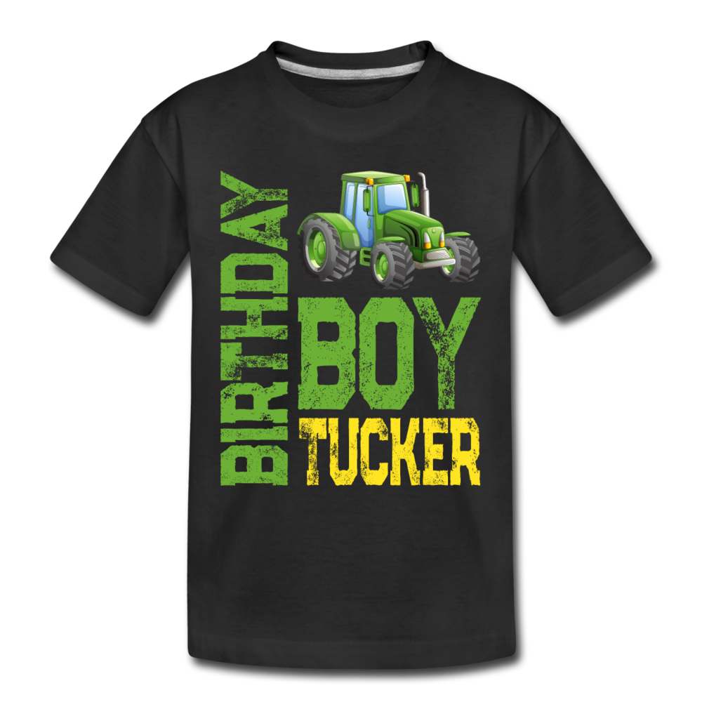 Tucker Green Tractor - black