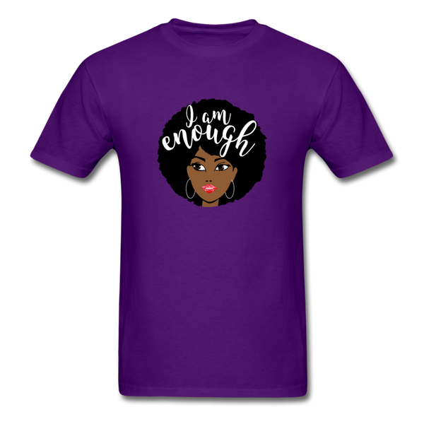 I Am Enough T-Shirt 3930 - purple