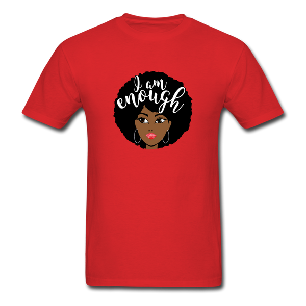 I Am Enough T-Shirt 3930 - red