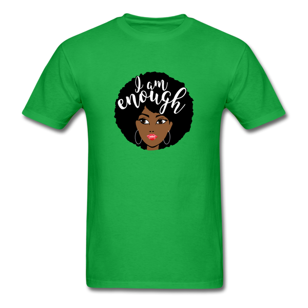 I Am Enough T-Shirt 3930 - bright green
