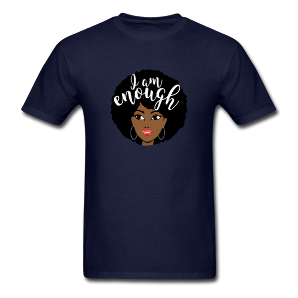 I Am Enough T-Shirt 3930 - navy