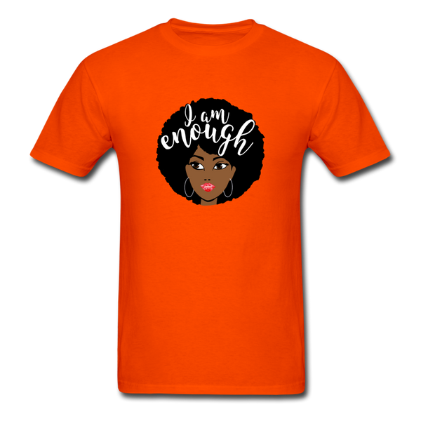 I Am Enough T-Shirt 3930 - orange